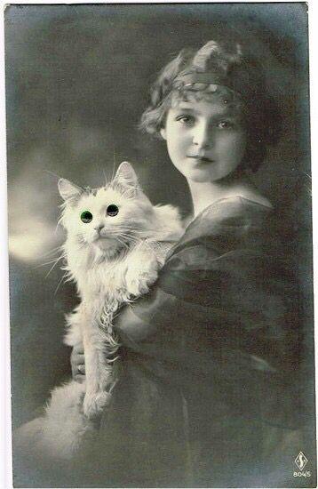 Vintage beautiful girl