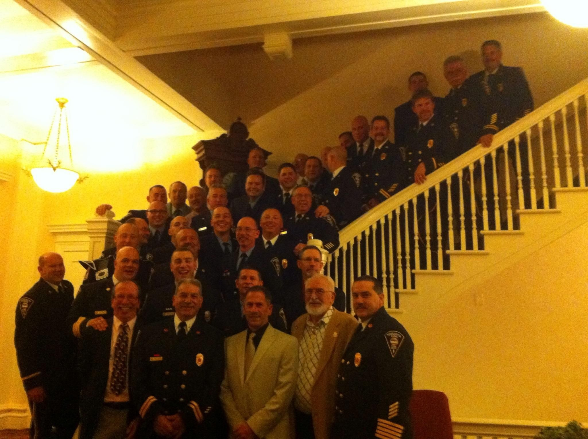 Present and past members of the torrington fire department