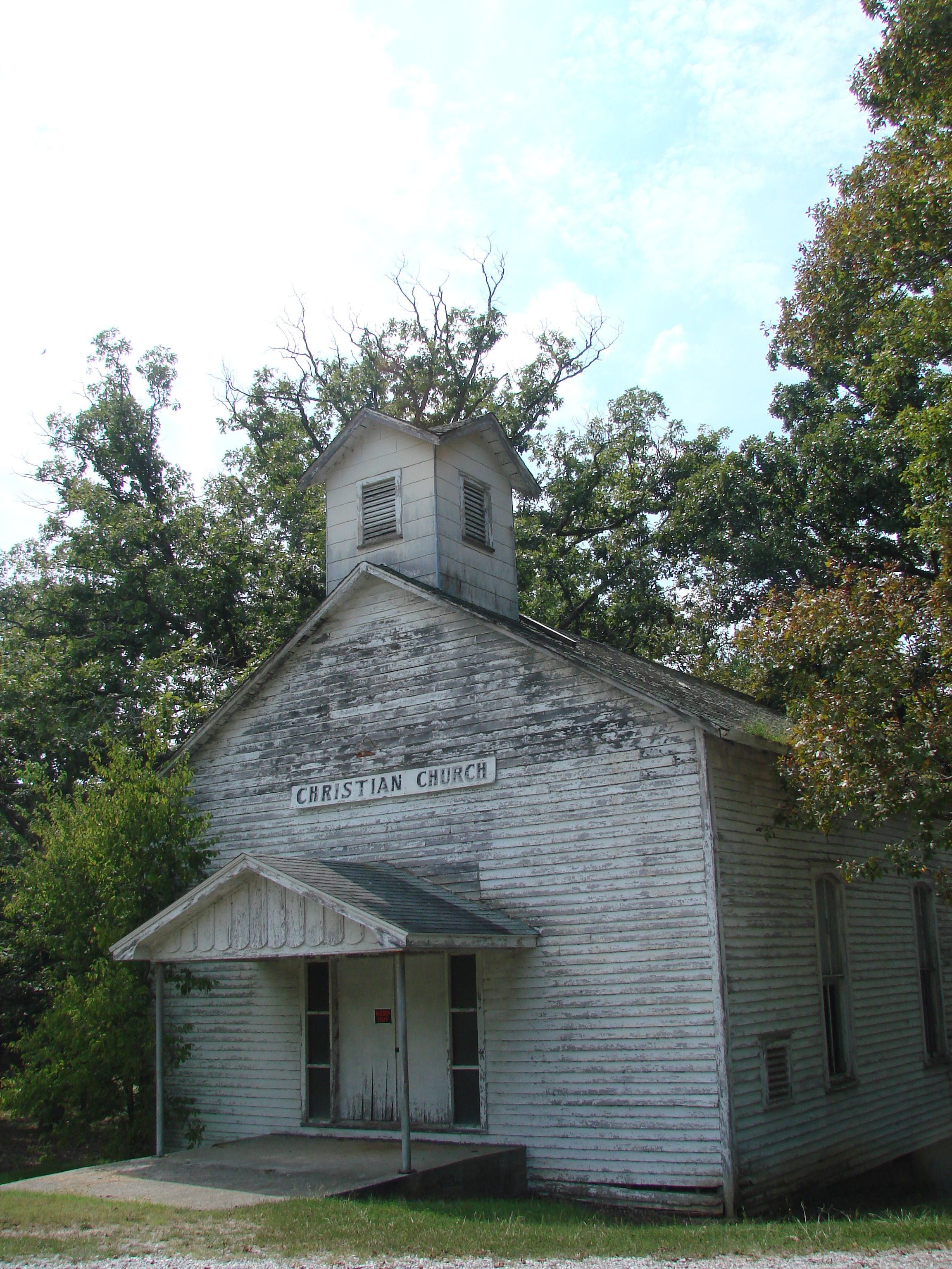 Disused church dixon springs il shawnee national