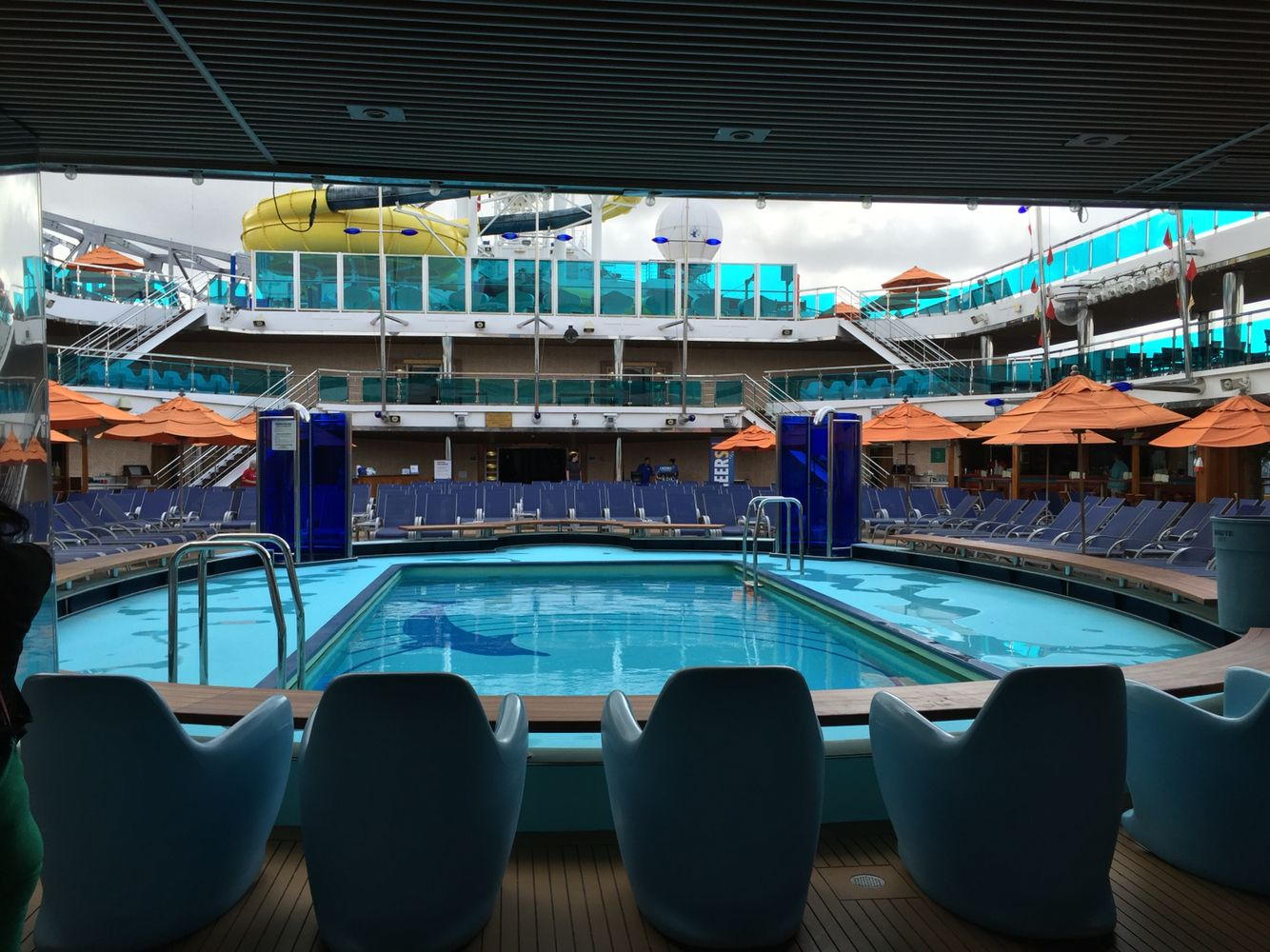 Deck view of Carnival Dream!