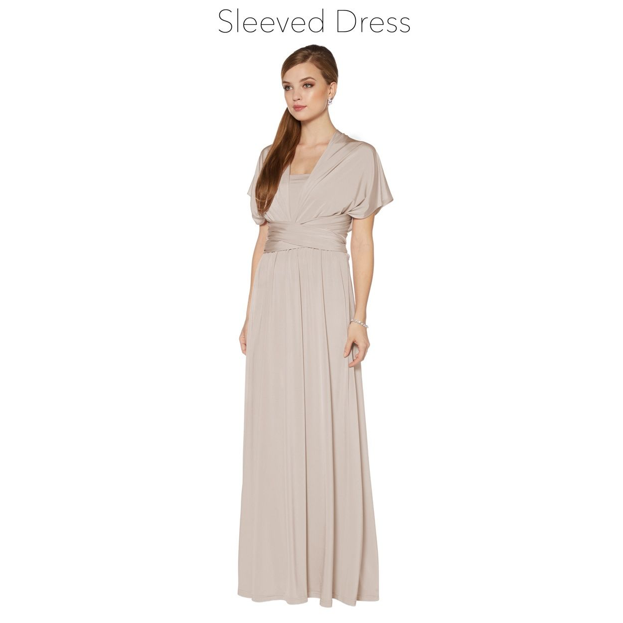 Debut latte pleated multiway maxi dress at debenhams pink debut latte pleated multiway maxi dress at debenhams ombrellifo Image collections