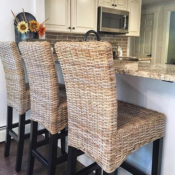 Stupendous Kubu Bar Counter Stool Pier 1 Imports In 2019 Wicker Ocoug Best Dining Table And Chair Ideas Images Ocougorg