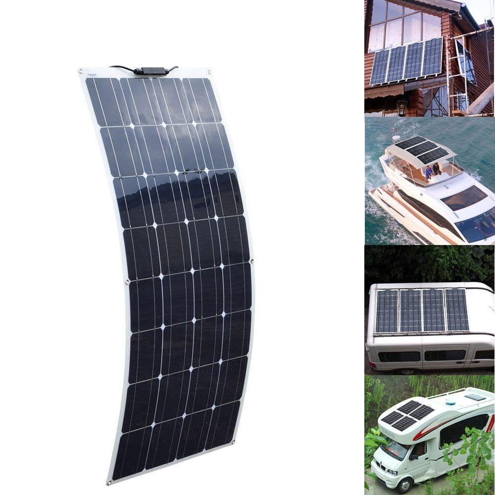 Xinpuguang 16v 100w Solar Panel 100 Watt Photovoltaic Flexible Solar Module Foldable Fotovoltaico Solar 12v Car Battery Solar Panels Solar Energy Panels Solar