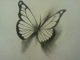 5cdf4f39e2e43 realistic+3d+butterfly+tattoo | deviantART: More Like Butterfly  Realisticish tattoo design by .