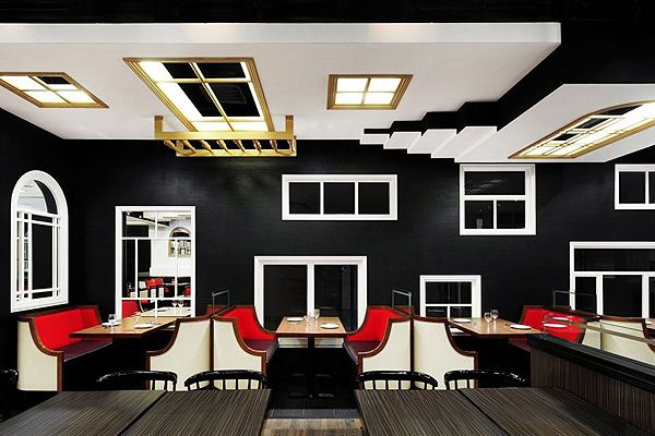 The Room // Joey Ho Design - restaurant concept inspired by M.C. Escher