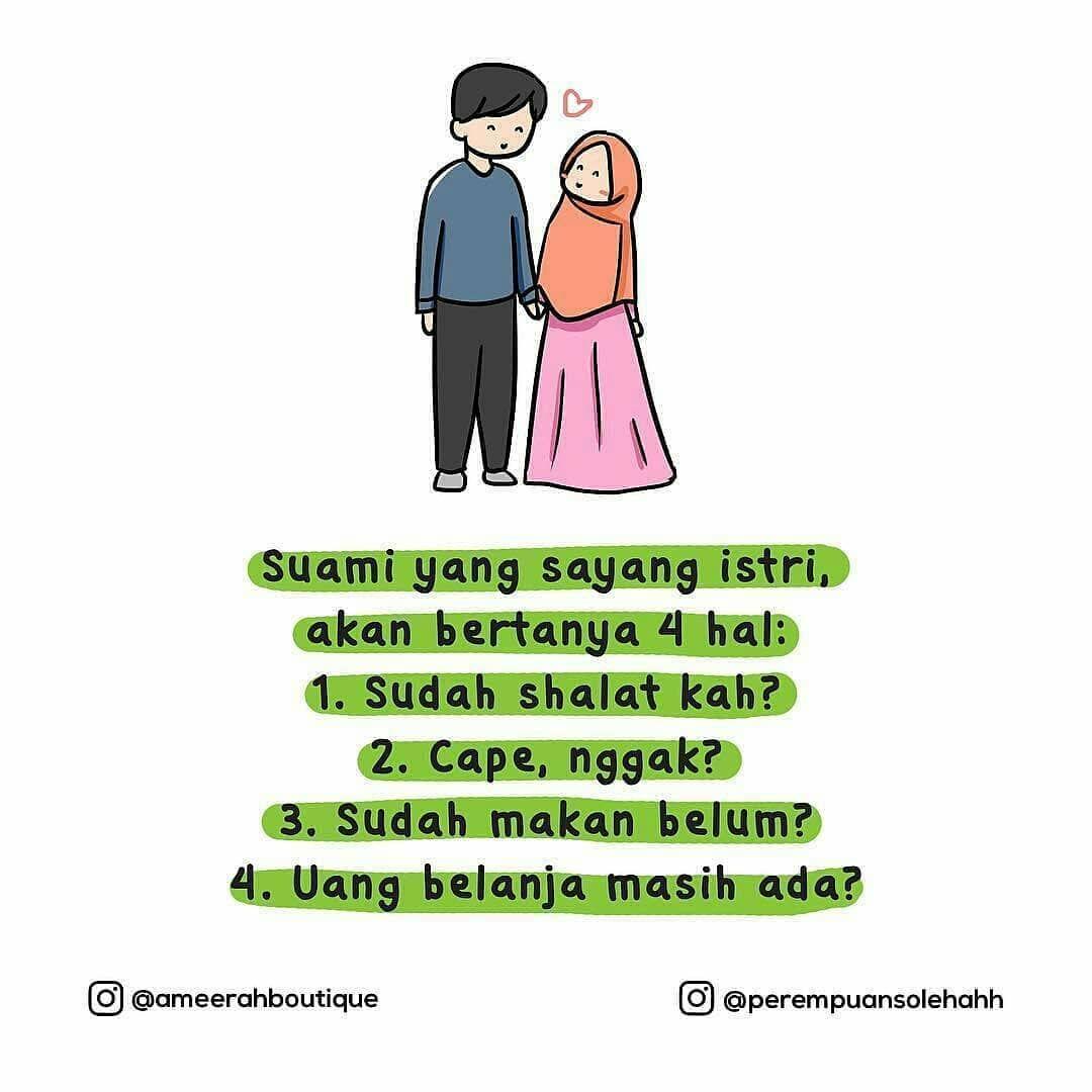 Gambar Kartun Romantis Islami Suami Istri Komik Romantis Kartun Gambar Kartun