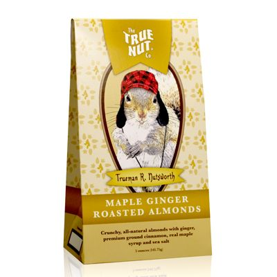 True Nut Maple Ginger Roasted Almonds | NeighborMade        #maple #ginger #almond #keene #neighbor