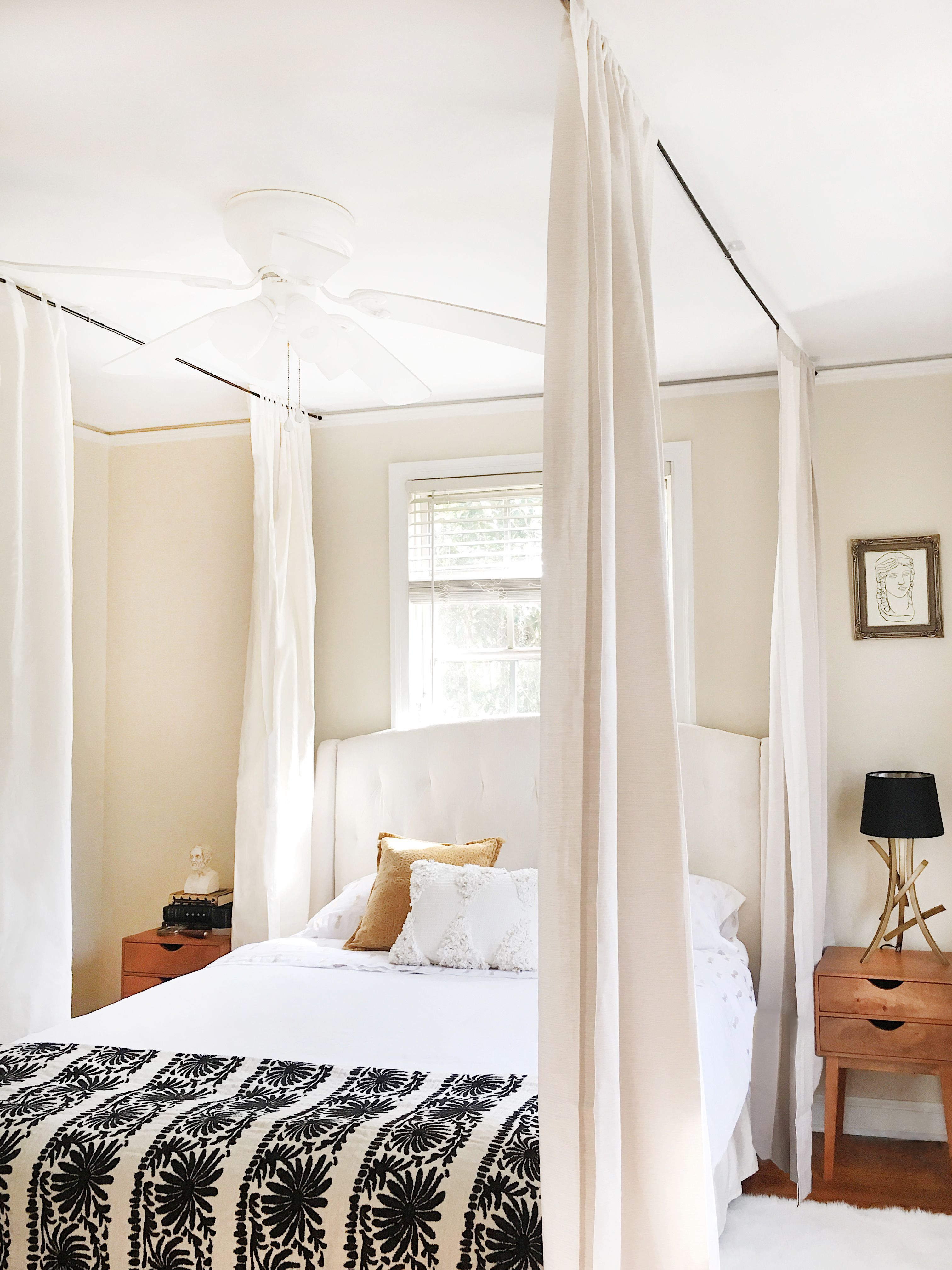 - How To Hang A Canopy From The Ceiling Without Drilling Holes