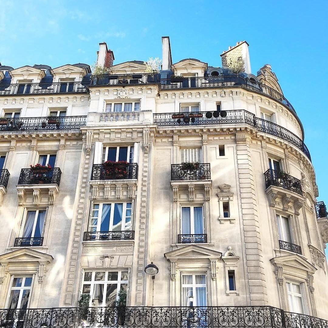 Apartment Exterior: Parisian Apartment Exterior #paris #buildings #travel