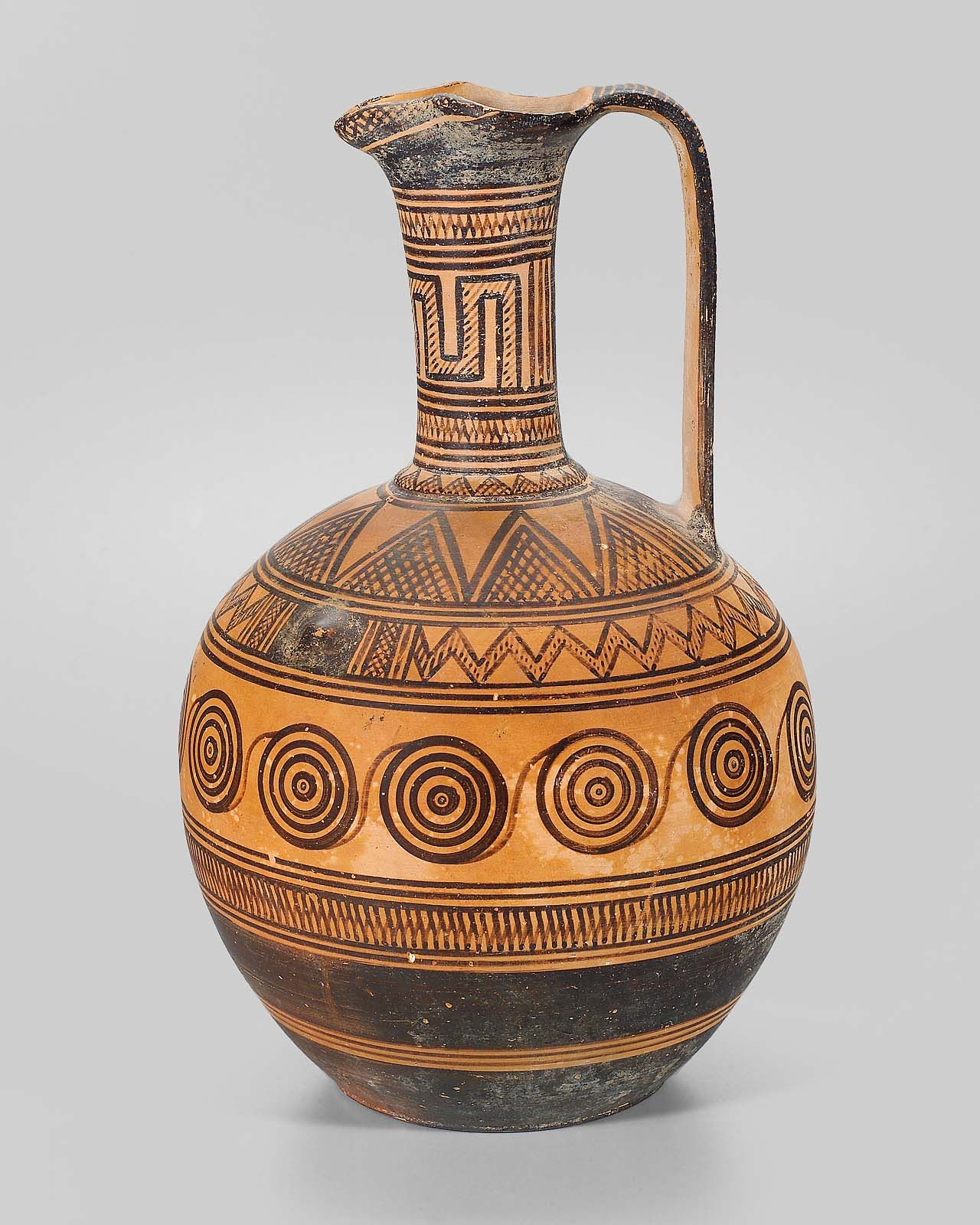 Pitcher Oinochoe Mfa For Educators Etruszkok