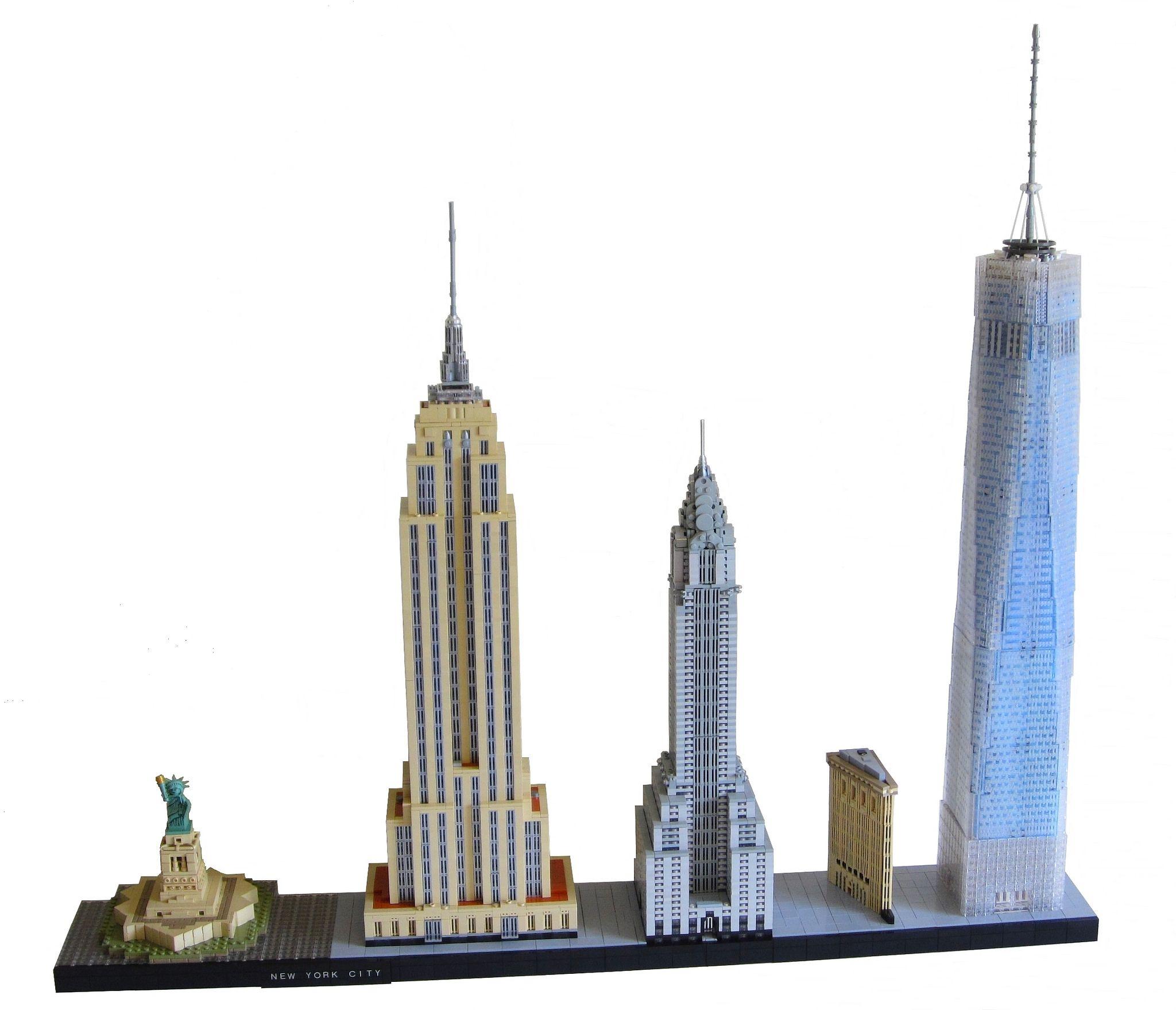 LEGO Architecture New York City Super Sized Legos