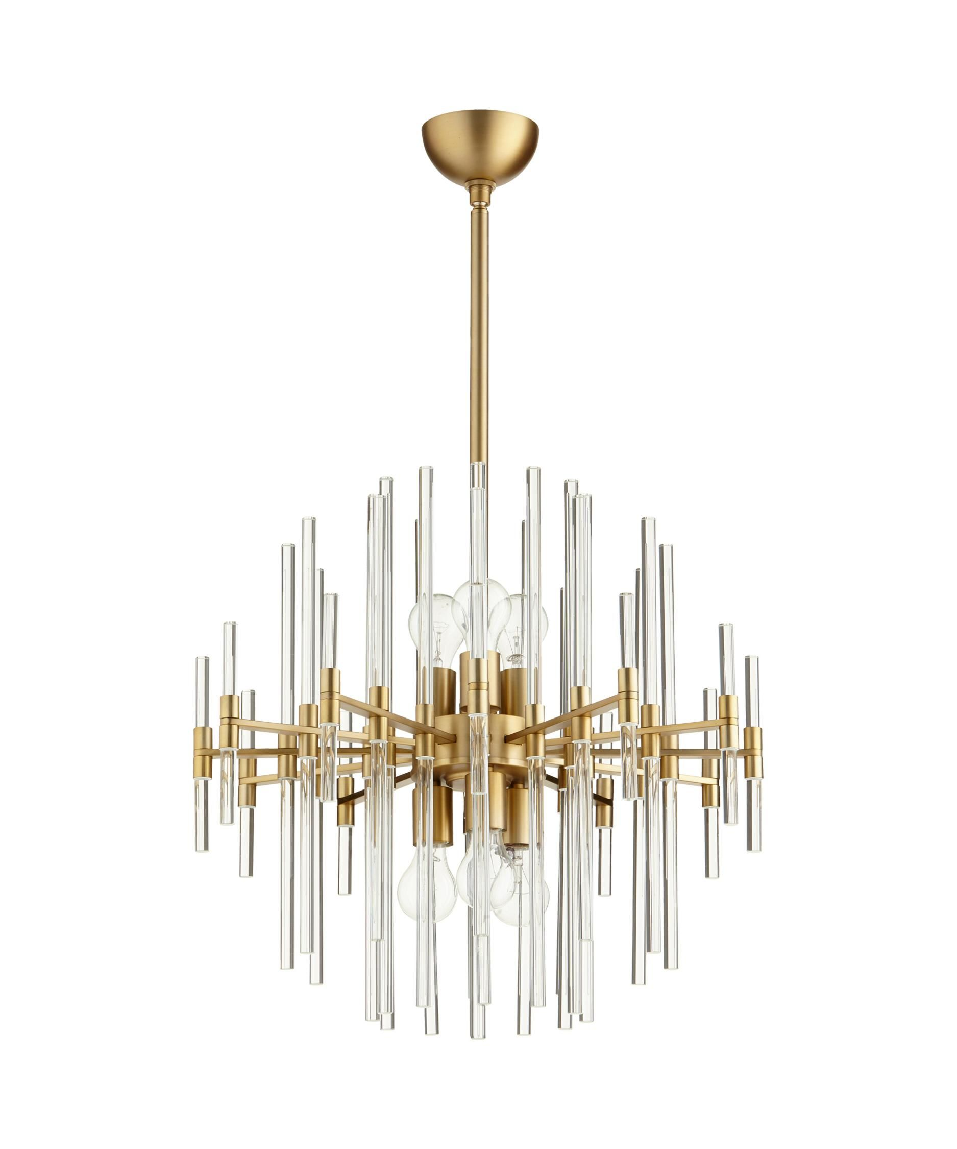 Cyan design 09223 quebec 23 inch chandelier