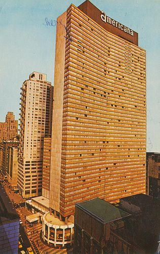 New York City Sheraton Hotel 1962