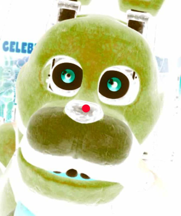 fnaf dot stare blink blank then bonnie eye seconds illusions optical tricks sister location freddy nights five jumpscares everywhere characters
