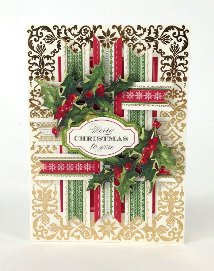 anna griffin cards ideas for christmas | Anna Griffin, Inc. Holiday Trimmings Card Mak… | Anna ...