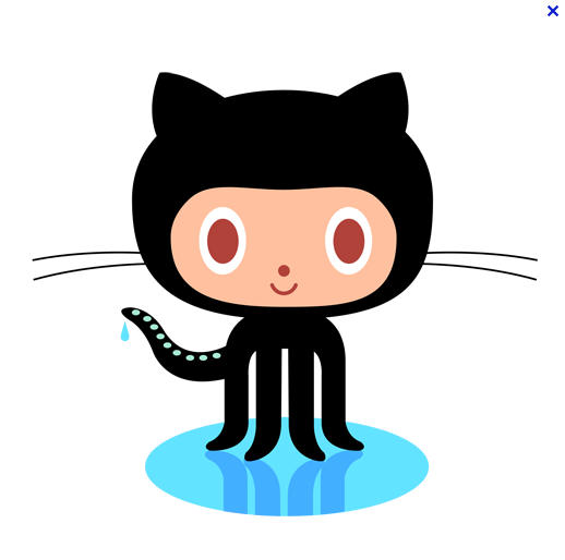 github mascot Illustrated Branding Coding, Learn web