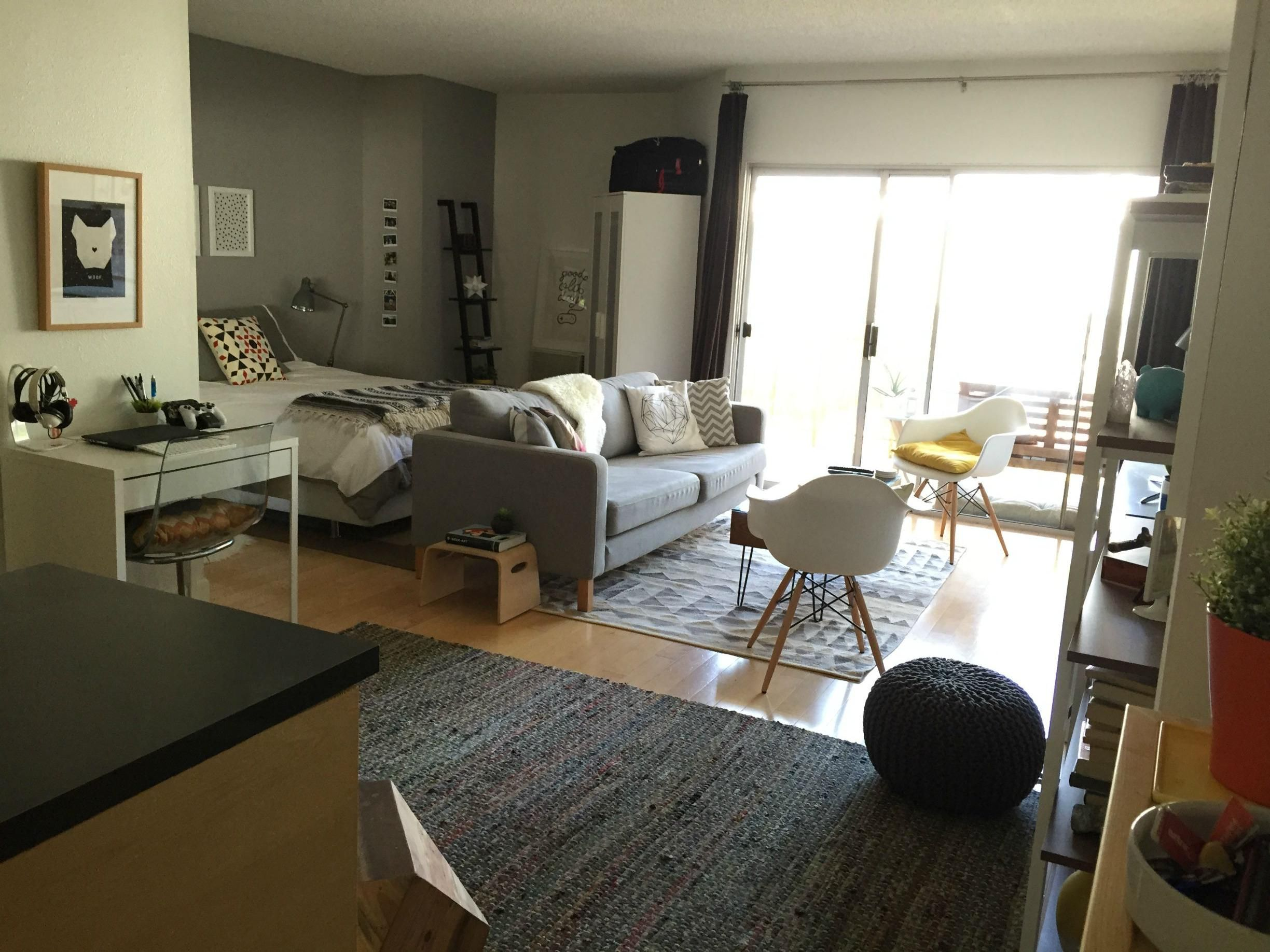 Studio Apartment Furniture Layout My Los Angeles Studio 2015 Nayirah 39s Mccoy Andtayah