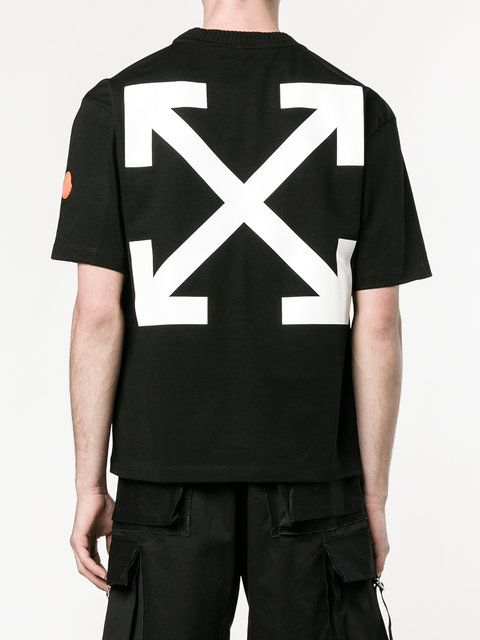 Moncler X Off-White Black Swan プリントTシャツ