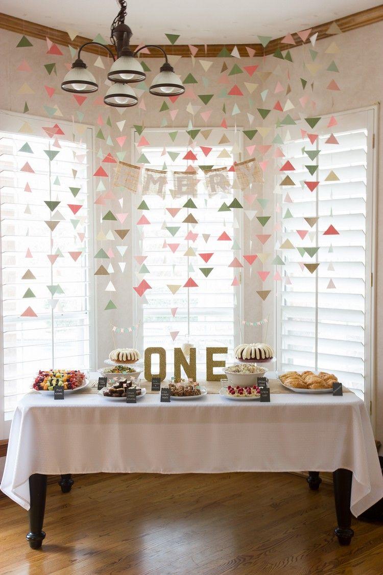 baby geburtstag geburtstag girlanden dreiecke pastellfarben selber machen birthday pinterest. Black Bedroom Furniture Sets. Home Design Ideas