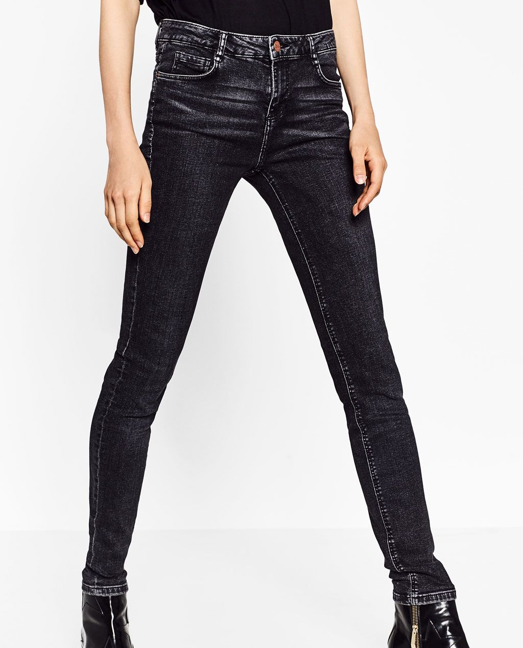 Immagine 2 di PANTALONI DENIM ESSENTIAL FITS di Zara
