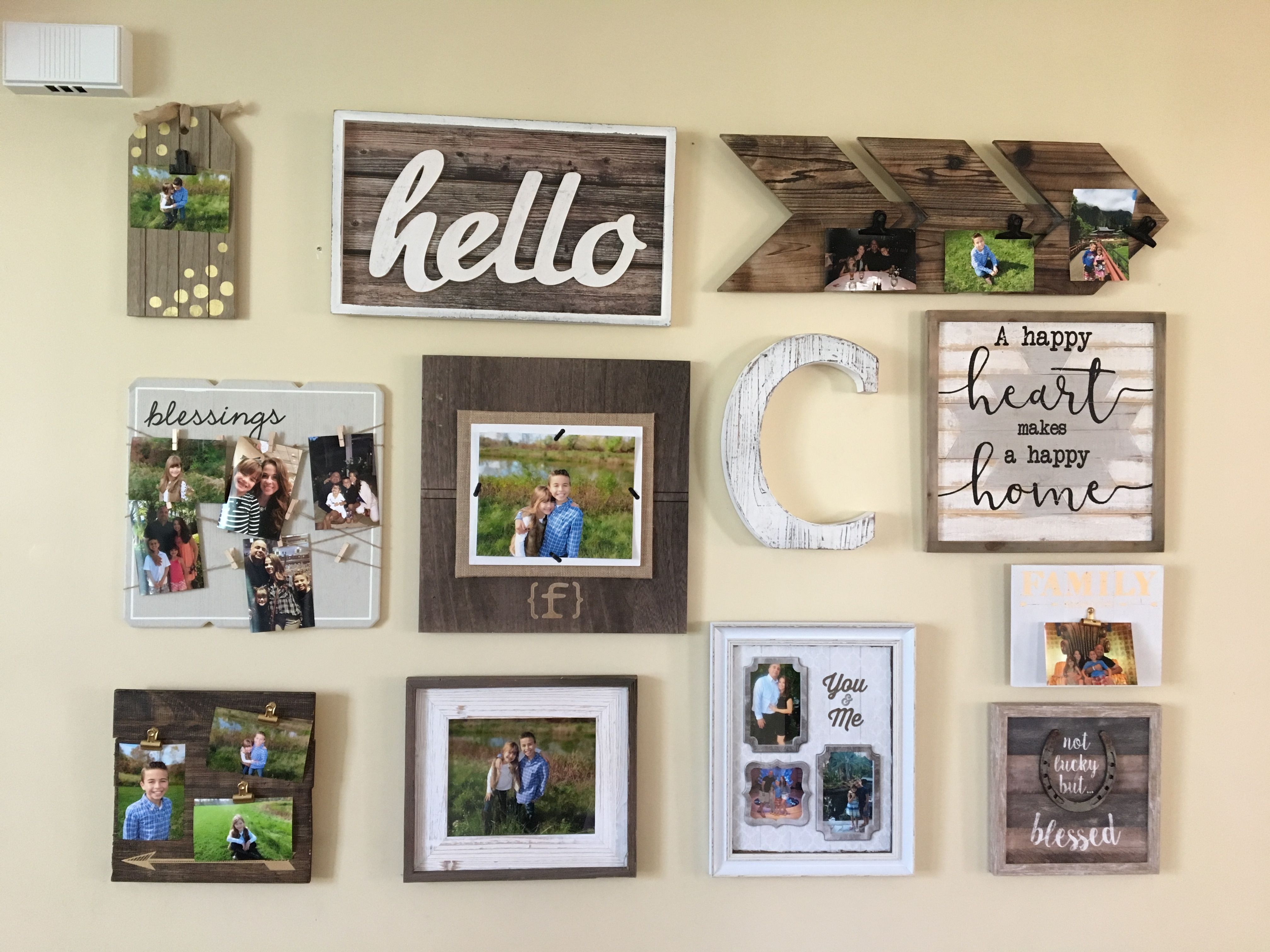 Gallery Wall Modern Farmhouse Gallery Wall All Items Are