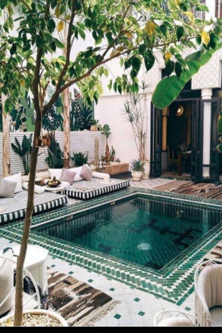 Photo of Cool Backyard Swimming Pool Ideas