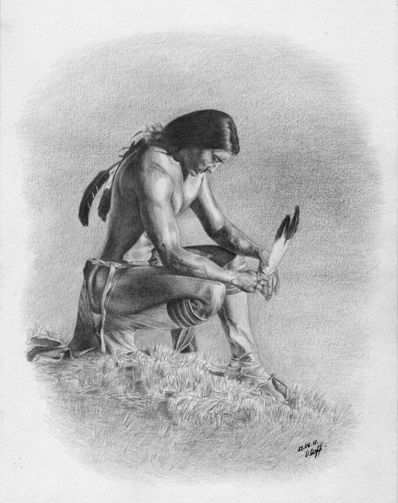 native american art | Native American Spirit by Worldinsideart on deviantART