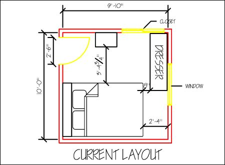 Small Bedroom Design Part 1: Space Planning
