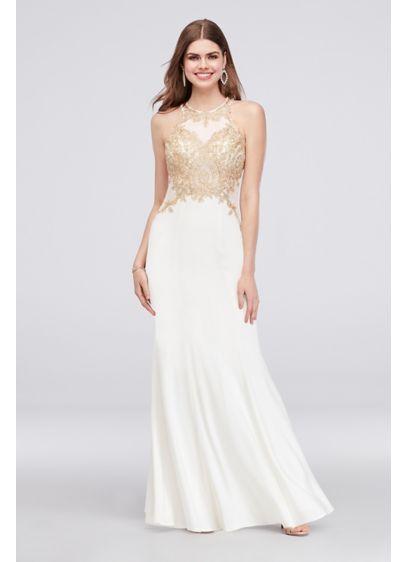 35a84303676f1 Long Mermaid/ Trumpet Halter Formal Dresses Dress - Xscape ...