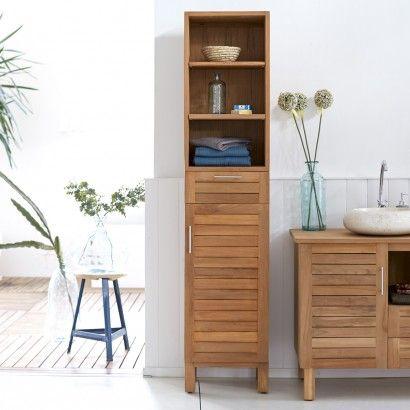 Soho Teak Column 180 New house stuff Pinterest Badezimmer - badezimmer hochschrank günstig