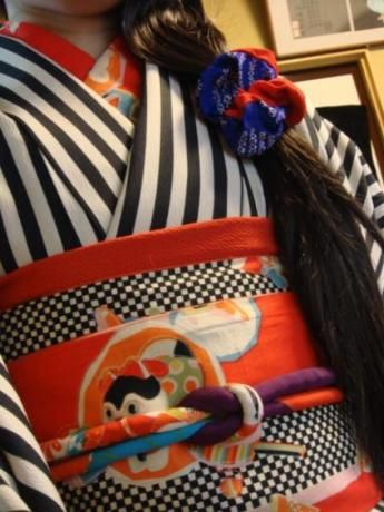 inu hariko obi -----------#japan #japanese #kimono