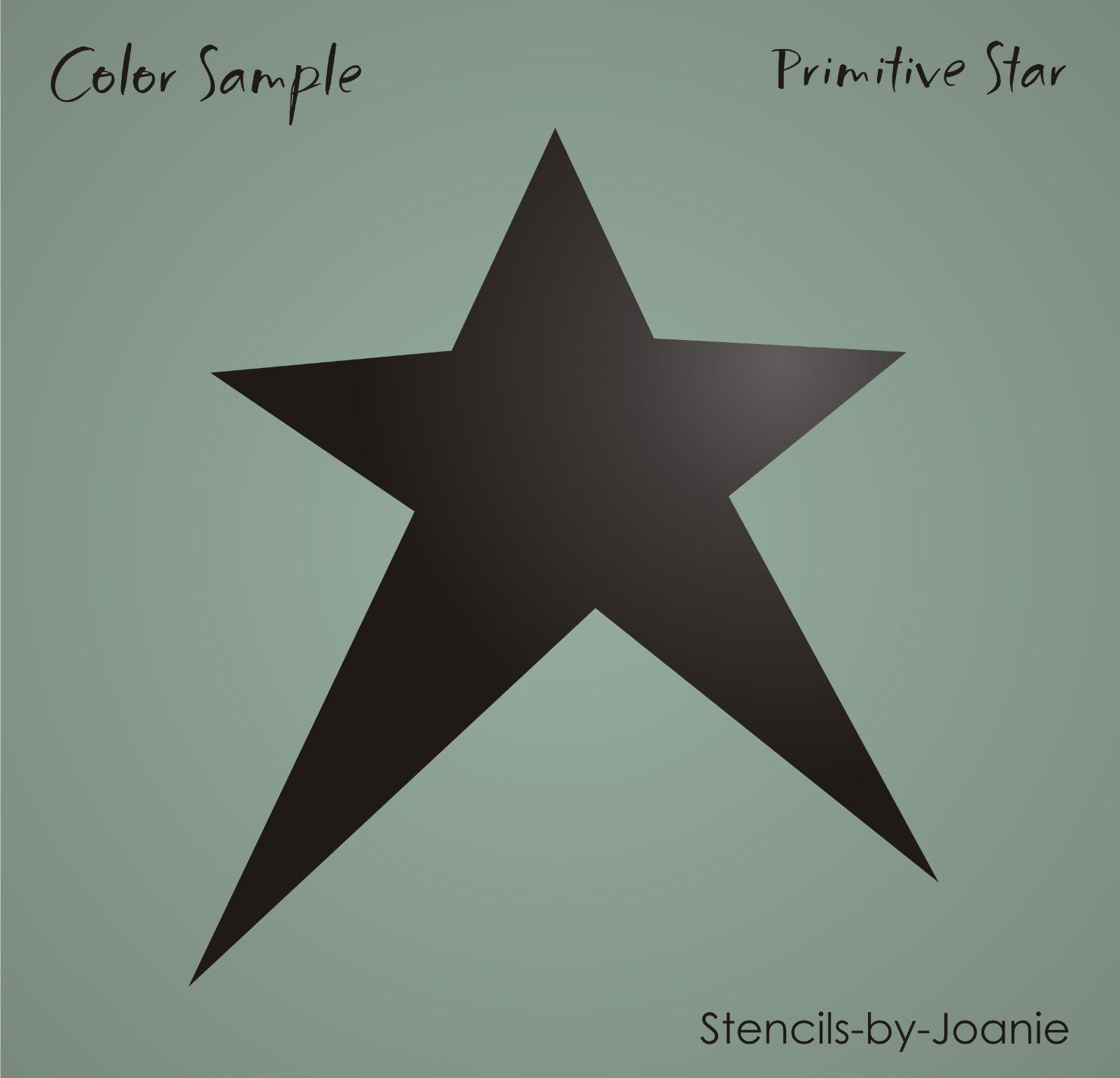 Details About Joanie Patriotic Stencil 1776 Stars