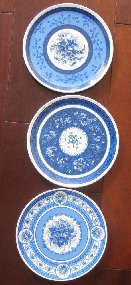 Set of 3 beautiful Lillian Vernon decorative 8.75\
