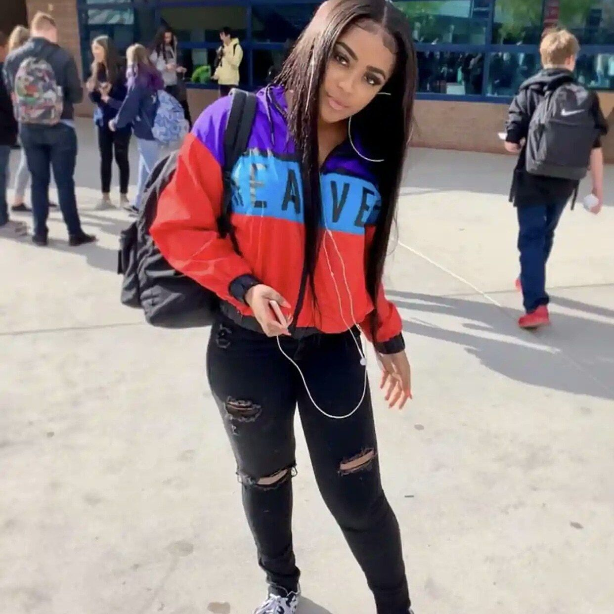 Social Media Influencer Milli Rae Knows How To Dress Prepared For School Social Media Influencer Street Chic Influencer