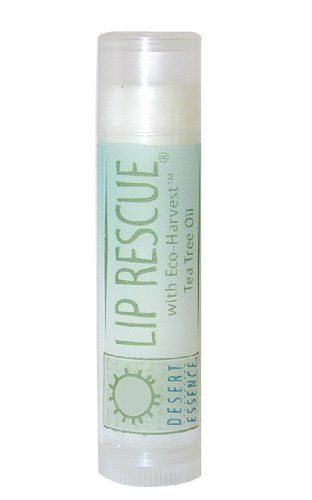 Lip Rescue With Tea Tree Oil Desert Essence 1 Stick *** New and awesome product awaits you, Read it now  : Natural Beauty Care