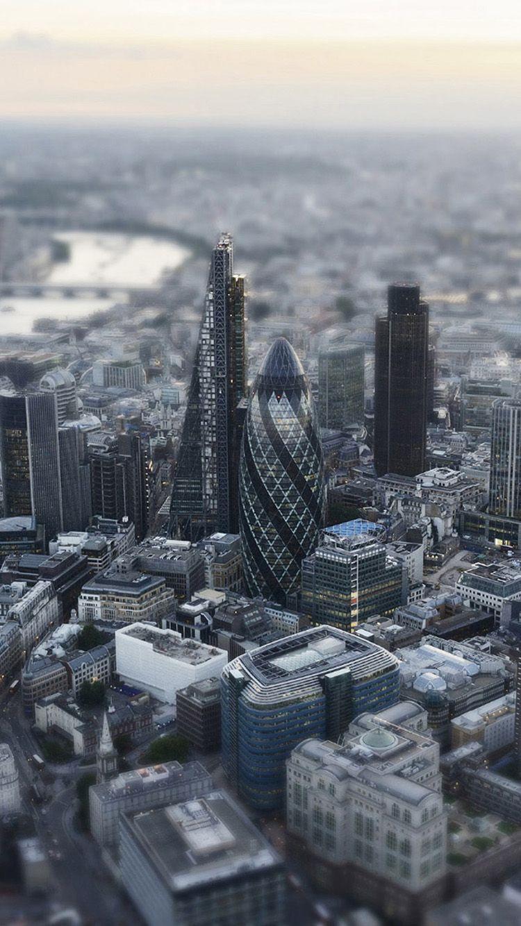 Wallpaper iphone london - London Aerial Miniature Iphone 6 Wallpapers