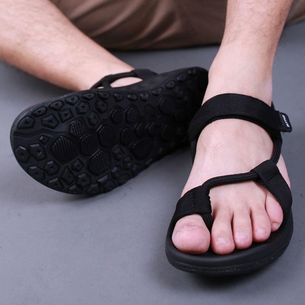 Women's sandals 2017 Summer Women Outdoor Beach Sandals flat unisex summer shoes high quality Back sandalias mujer size 42 43 44