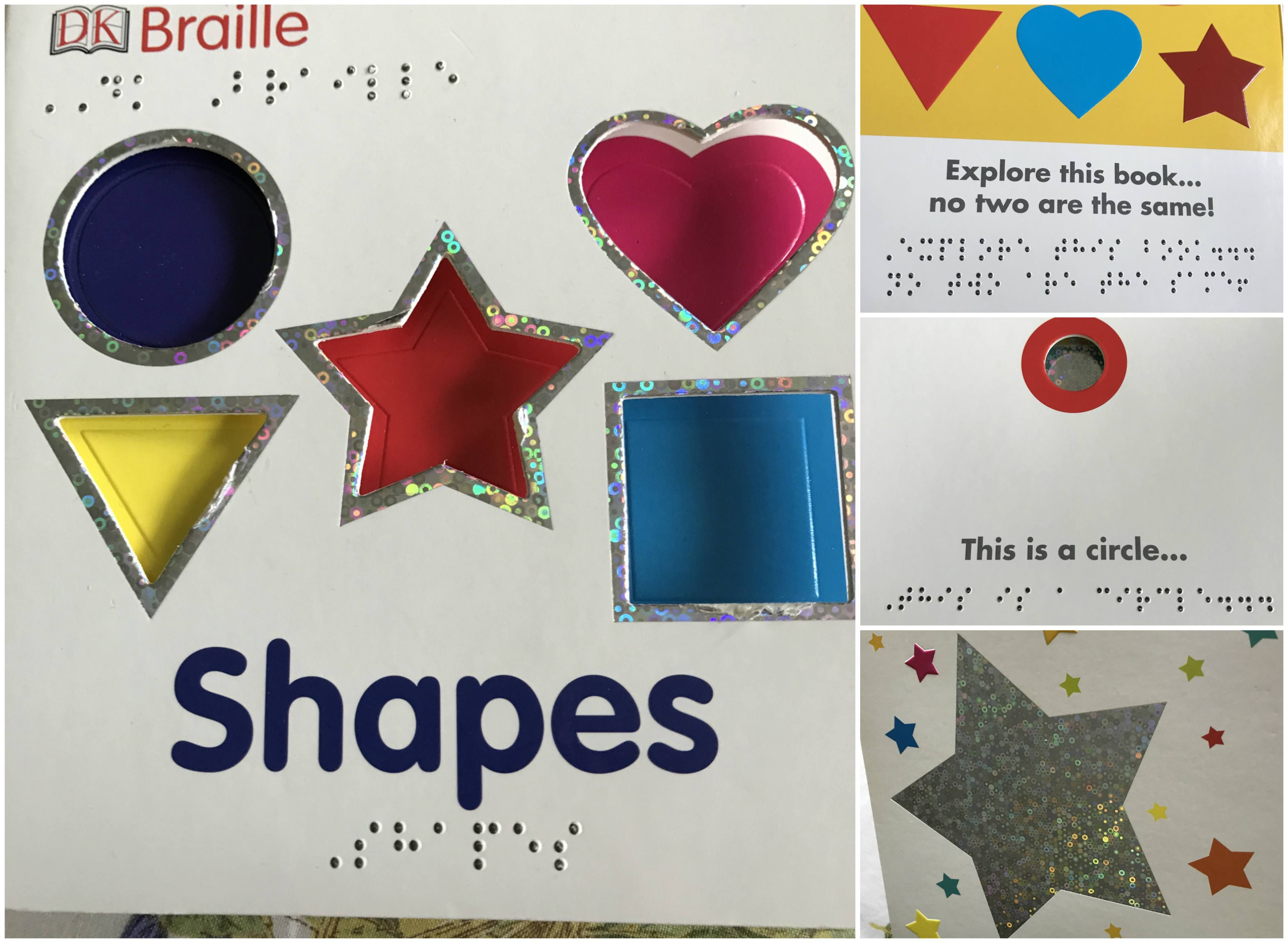 Dk Braille Shapes It Is A Book Written By Fleur Star And