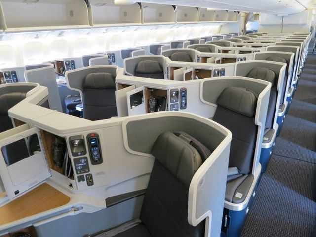American Airlines Boeing 777 300 Business Class Airline