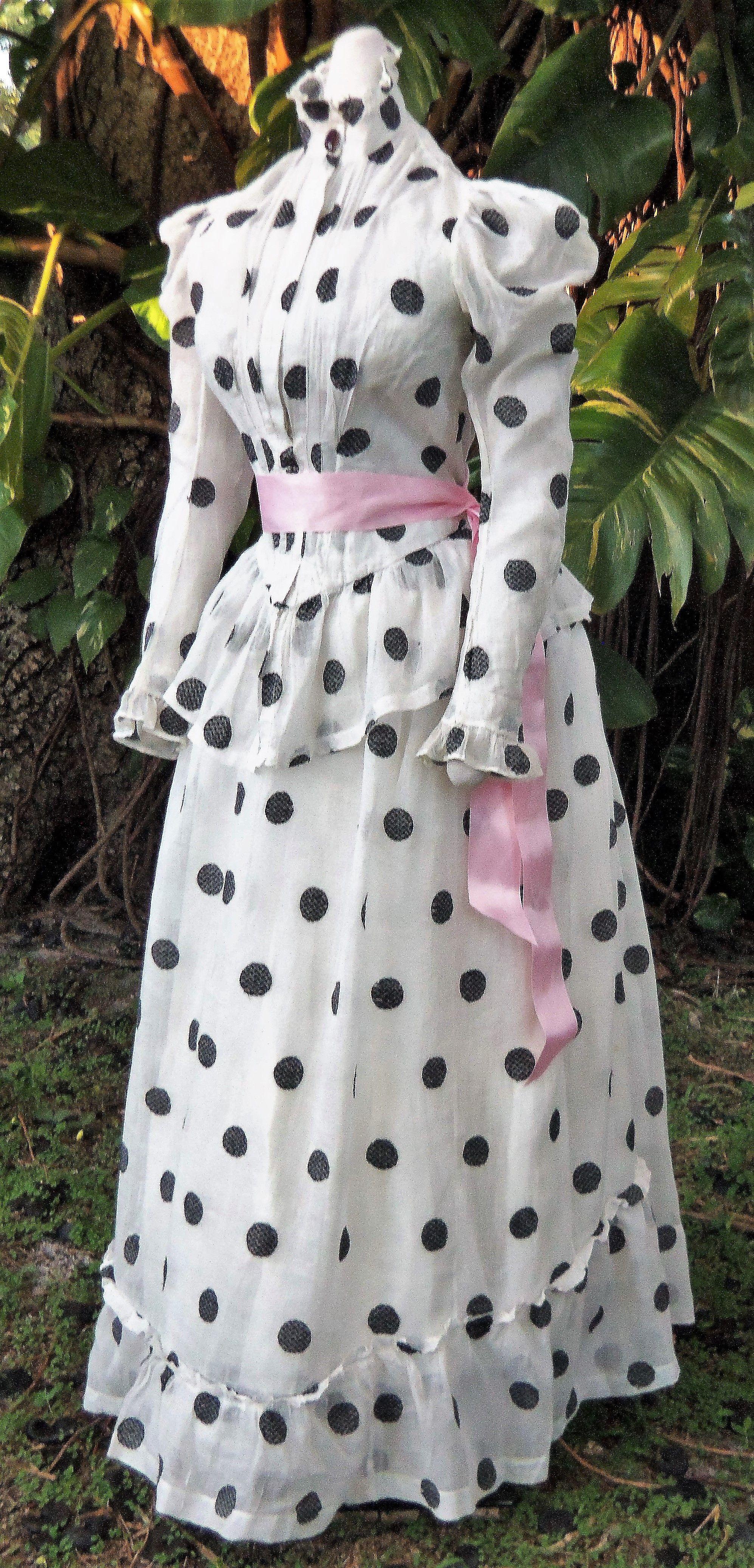Muslin summer dress c.1890 | 1880 - 1889 fashion | Pinterest ...