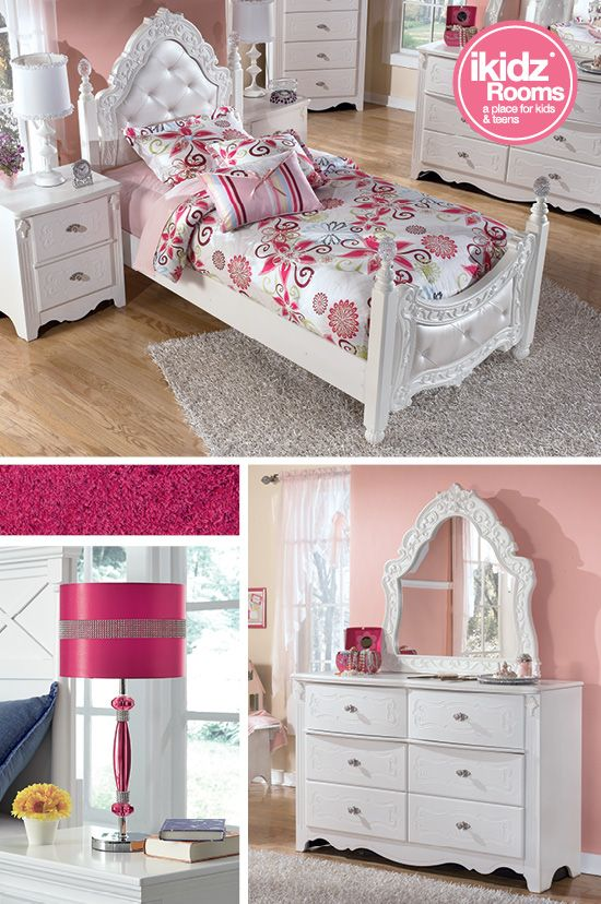 iKidzRooms Our Exquisite Upholstered Bed and Bedroom Set has just ...