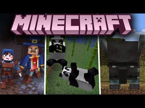 Minecraft 1 14 I 1 15 Minecon Earth Top Video Minecraft