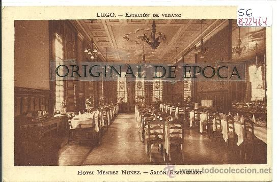 (PS-22464)POSTAL DE LUGO - HOTEL MENDEZ NUÑEZ.SALON RESTAURANT - Foto 1