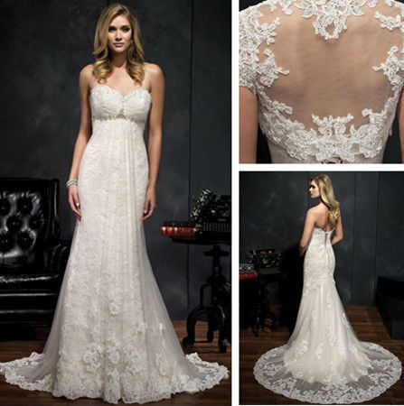 Wedding Gown Trails Cathedral Crystal Has Drag Lace Mother Of The Bride
