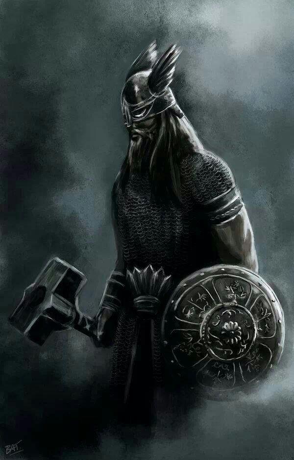 hall thor viking pinterest vikings mythologie nordique et mythologie. Black Bedroom Furniture Sets. Home Design Ideas