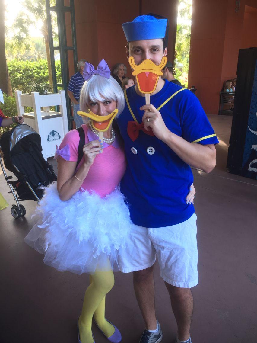 Daisy and Donald Duck for Halloween! | Rave | Pinterest | Kostüm ...