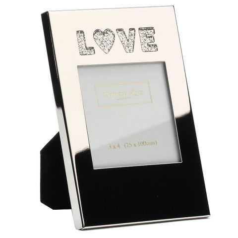 $17.60 Addison Ross Frame Silver Plated LOVE www.peddlersgifts.com