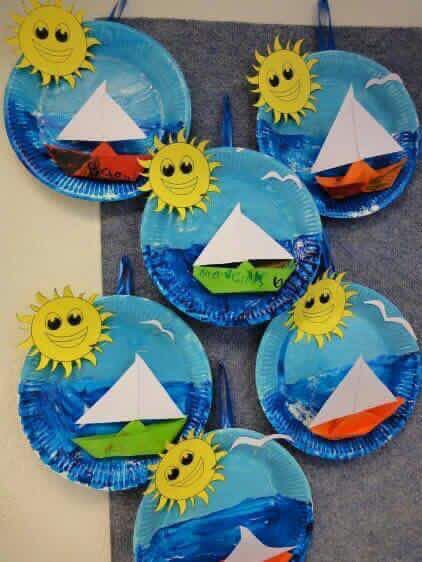 Water transport | Art N craft | Crafts for kids, Transportation