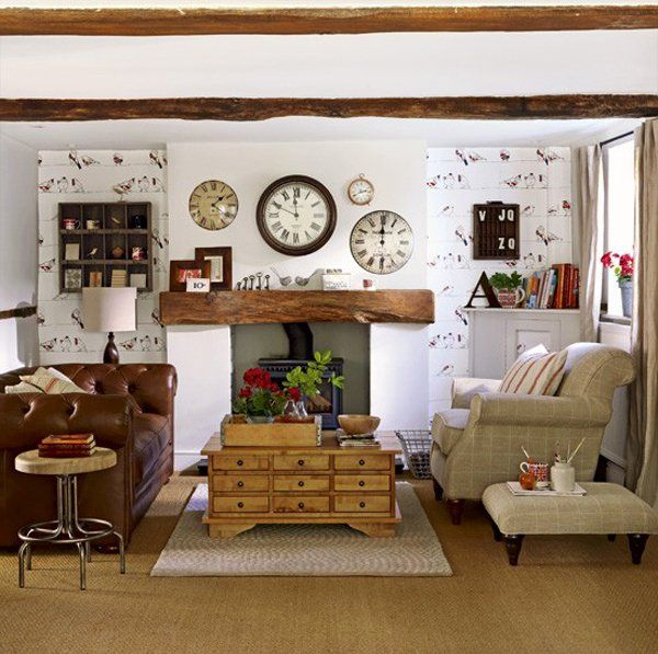 15 Relaxing Brown And Tan Living Room Designs Country Style