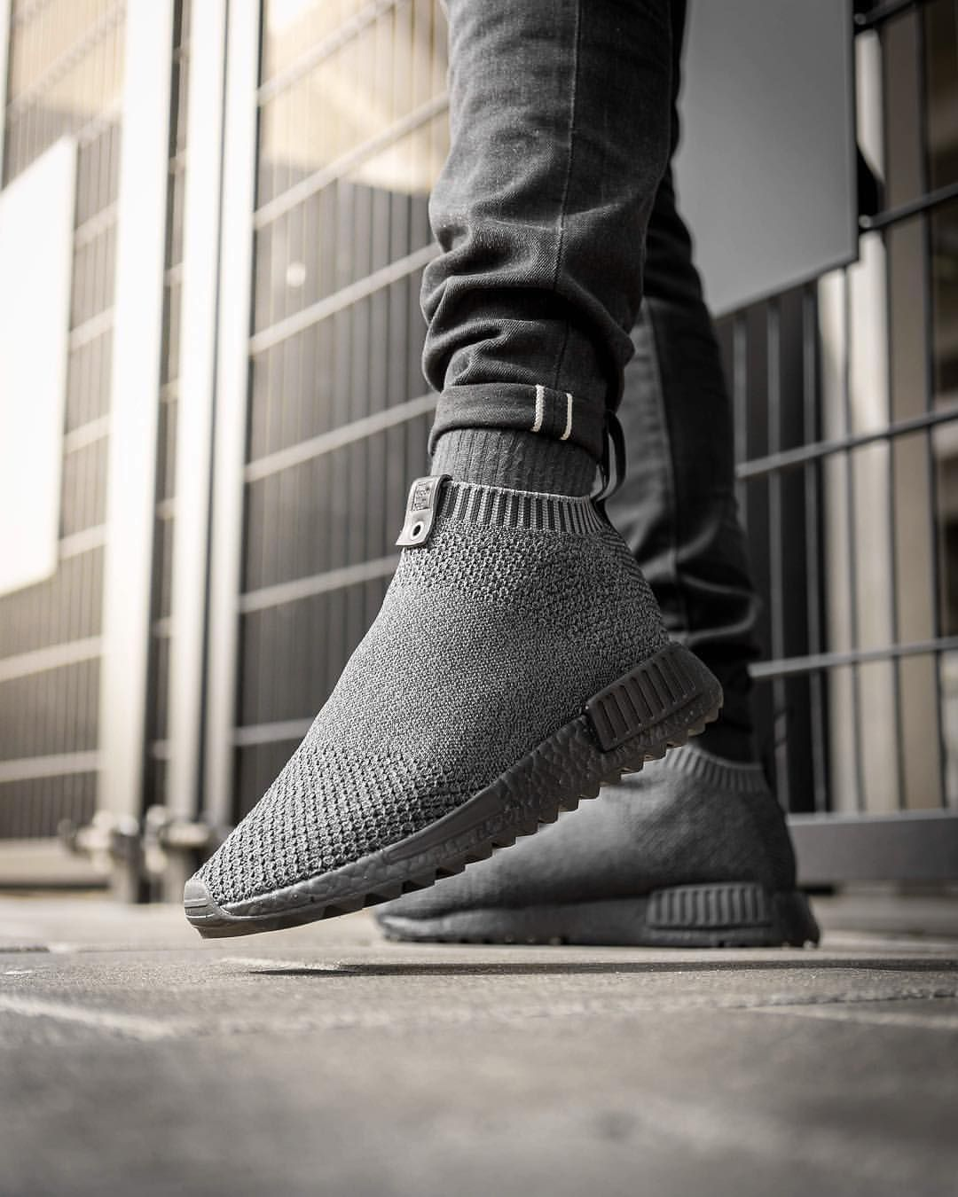 1a5fbaee258d1 Up close with The Good Will Out x adidas Consortium NMD CS1 on feet ...